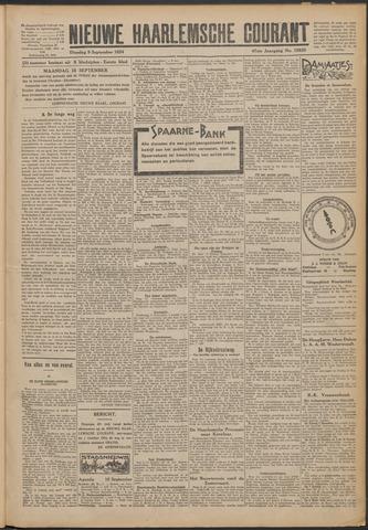 Nieuwe Haarlemsche Courant 1924-09-09