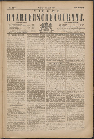 Nieuwe Haarlemsche Courant 1888-02-03