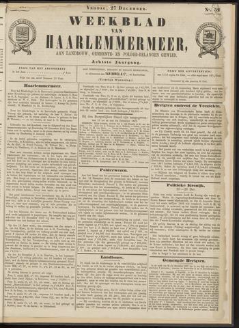 Weekblad van Haarlemmermeer 1867-12-27