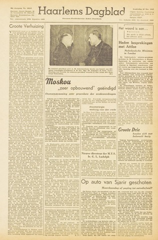 Haarlem's Dagblad 1945-12-27