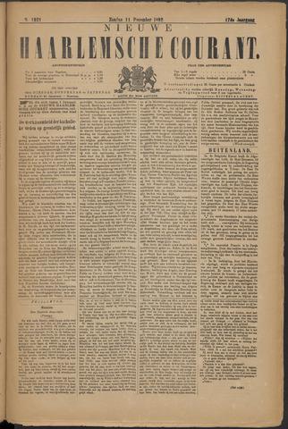 Nieuwe Haarlemsche Courant 1892-12-11