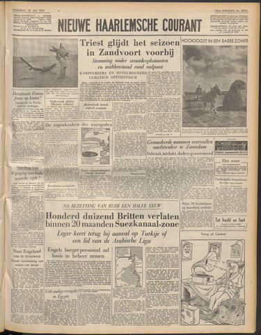 Nieuwe Haarlemsche Courant 1954-07-28