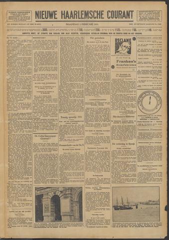 Nieuwe Haarlemsche Courant 1931-02-02