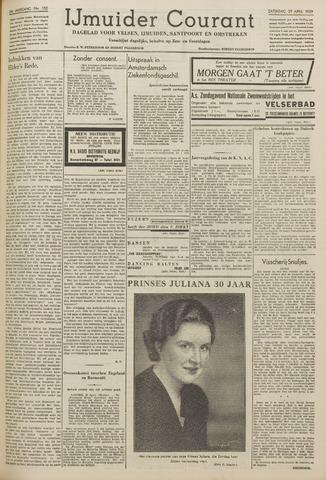 IJmuider Courant 1939-04-29