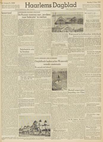 Haarlem's Dagblad 1947-03-17