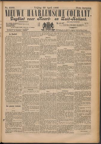 Nieuwe Haarlemsche Courant 1906-04-20