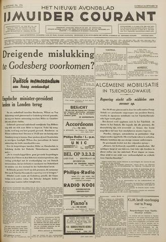 IJmuider Courant 1938-09-24
