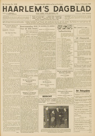 Haarlem's Dagblad 1935-12-17