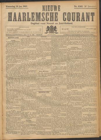 Nieuwe Haarlemsche Courant 1907-01-16