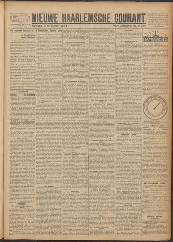 Nieuwe Haarlemsche Courant 1922-11-21