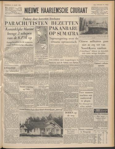 Nieuwe Haarlemsche Courant 1958-03-13