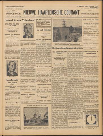 Nieuwe Haarlemsche Courant 1934-09-08