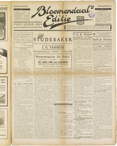 Bloemendaal's Editie 1929-04-20