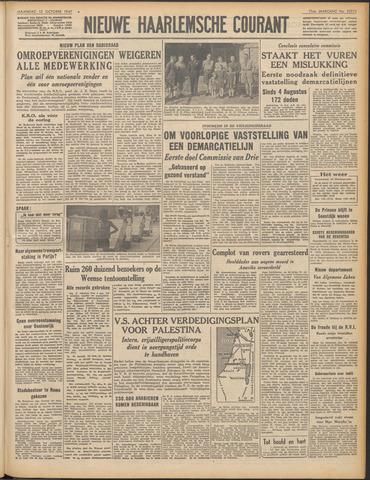 Nieuwe Haarlemsche Courant 1947-10-13