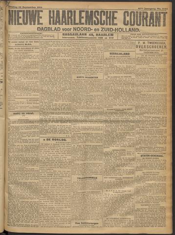 Nieuwe Haarlemsche Courant 1916-09-22