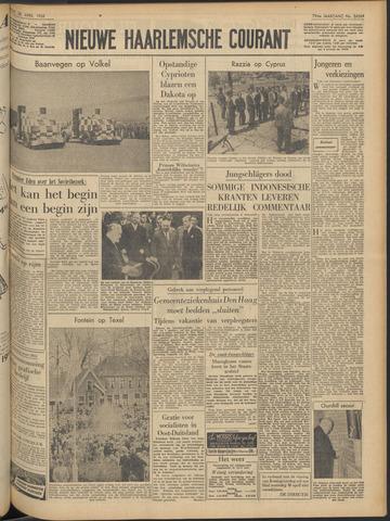 Nieuwe Haarlemsche Courant 1956-04-28