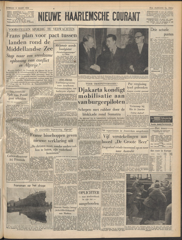 Nieuwe Haarlemsche Courant 1958-03-08
