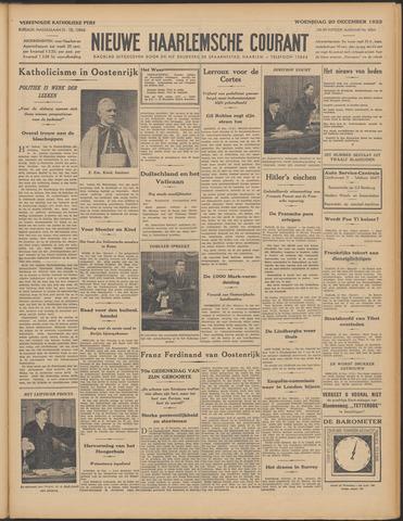 Nieuwe Haarlemsche Courant 1933-12-20