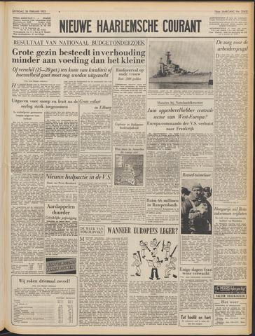 Nieuwe Haarlemsche Courant 1953-02-28