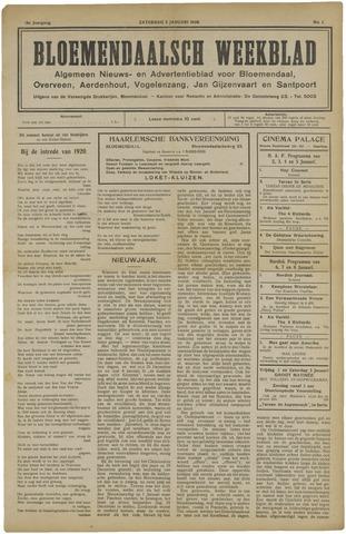Het Bloemendaalsch Weekblad 1920