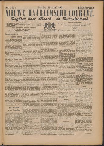 Nieuwe Haarlemsche Courant 1904-04-19