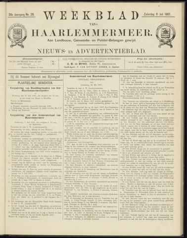 Weekblad van Haarlemmermeer 1887-07-09