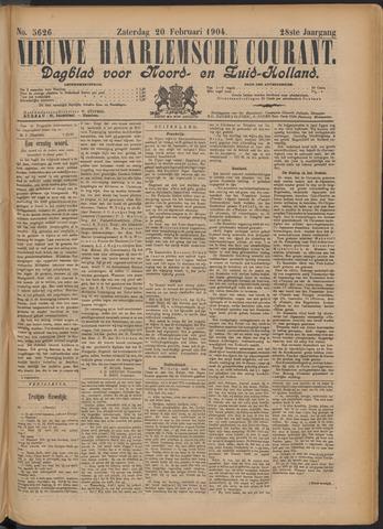 Nieuwe Haarlemsche Courant 1904-02-20