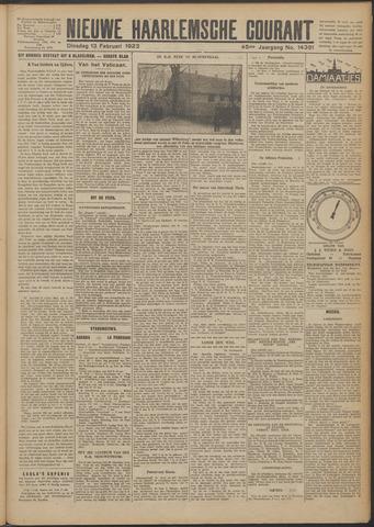Nieuwe Haarlemsche Courant 1923-02-13