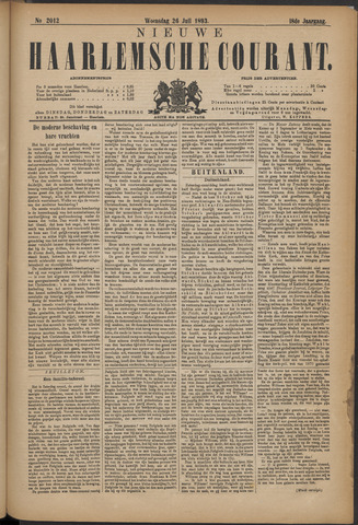 Nieuwe Haarlemsche Courant 1893-07-26