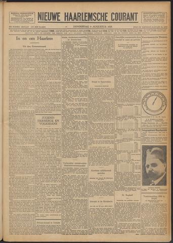 Nieuwe Haarlemsche Courant 1928-08-09