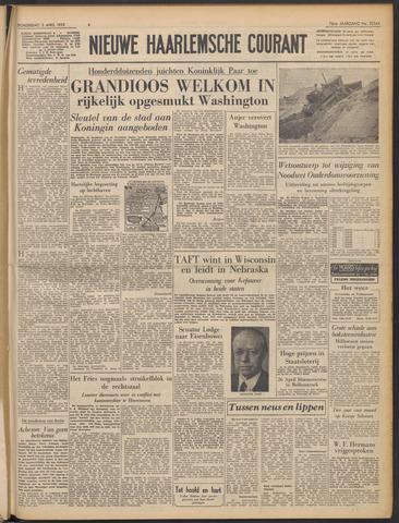 Nieuwe Haarlemsche Courant 1952-04-03