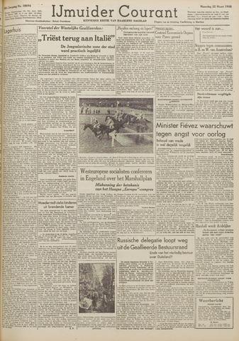 IJmuider Courant 1948-03-22