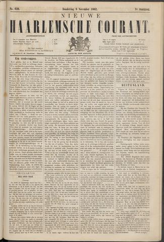 Nieuwe Haarlemsche Courant 1882-11-09