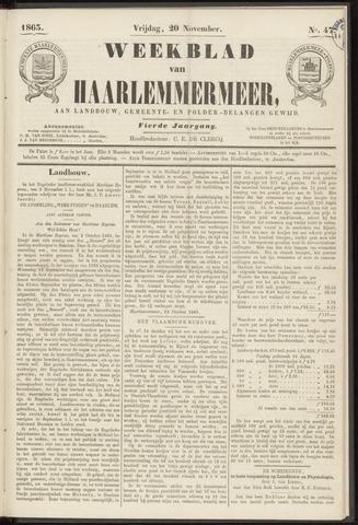 Weekblad van Haarlemmermeer 1863-11-20