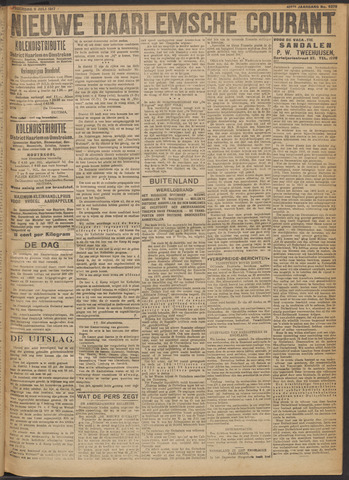 Nieuwe Haarlemsche Courant 1917-07-05