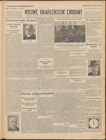 Nieuwe Haarlemsche Courant 1932-09-08