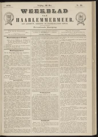 Weekblad van Haarlemmermeer 1876-05-26