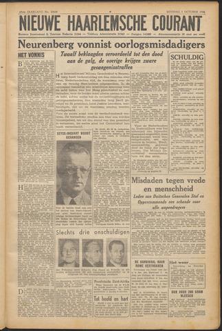 Nieuwe Haarlemsche Courant 1946-10-01