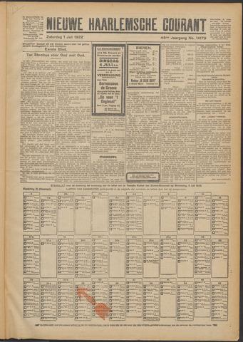 Nieuwe Haarlemsche Courant 1922-07-01