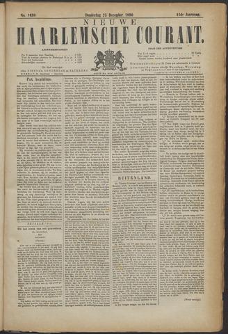 Nieuwe Haarlemsche Courant 1890-12-25