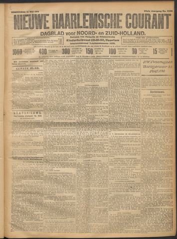 Nieuwe Haarlemsche Courant 1914-05-14