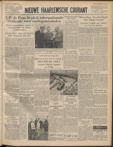 Nieuwe Haarlemsche Courant 1953-10-05