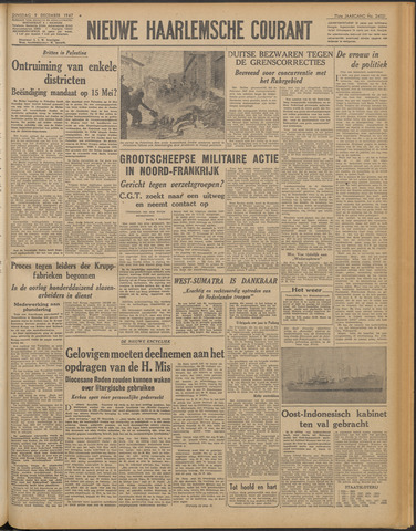 Nieuwe Haarlemsche Courant 1947-12-09