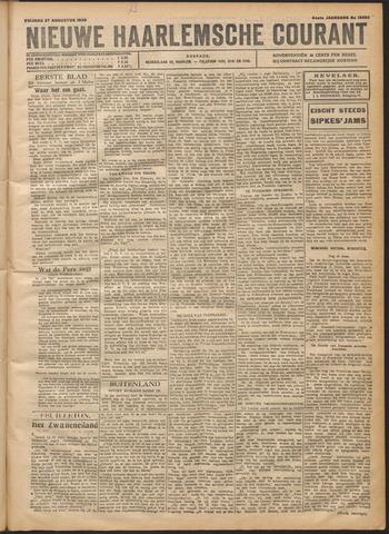 Nieuwe Haarlemsche Courant 1920-08-27