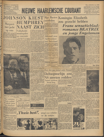 Nieuwe Haarlemsche Courant 1964-08-27
