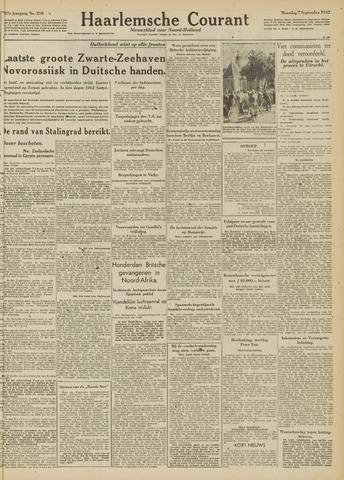 Haarlemsche Courant 1942-09-07