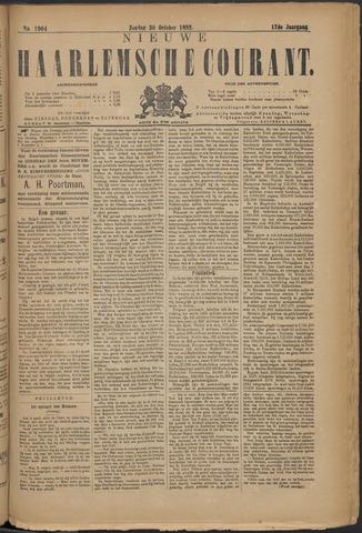 Nieuwe Haarlemsche Courant 1892-10-30