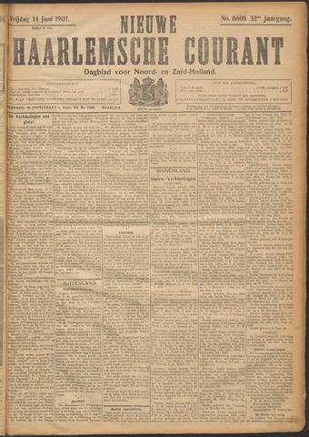 Nieuwe Haarlemsche Courant 1907-06-14