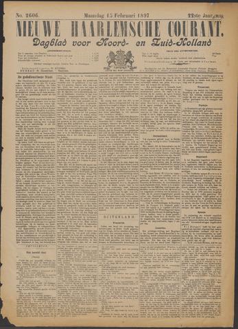 Nieuwe Haarlemsche Courant 1897-02-15