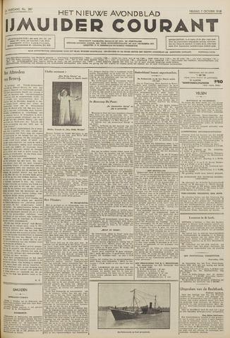 IJmuider Courant 1938-10-07